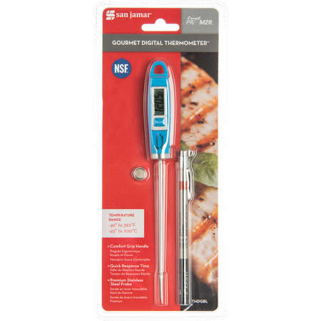 THDGBL - GOURMET DIGITAL THERMOMETER BLUE NSF LISTED