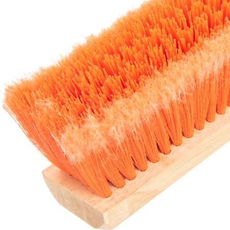 "36222424 - Flo-Pac® Polypropylene Sweep With Heavy Polypropylene Center 24"" - Orange"