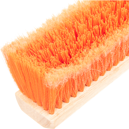 "36223624 - Flo-Pac® Polypropylene Sweep With Heavy Polypropylene Center 18"" 36"" - Orange"