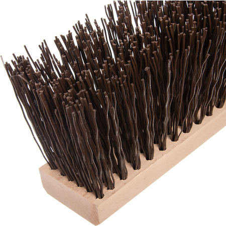 "3611301801 - 18"" Heavy Polypropylene Sweep 18"" - Brown"