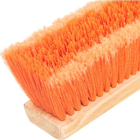 "3610222424 - Flo-Pac® Juno Style Polypropylene Sweep w/Heavy Polypropylene Center 24"" - Orange"