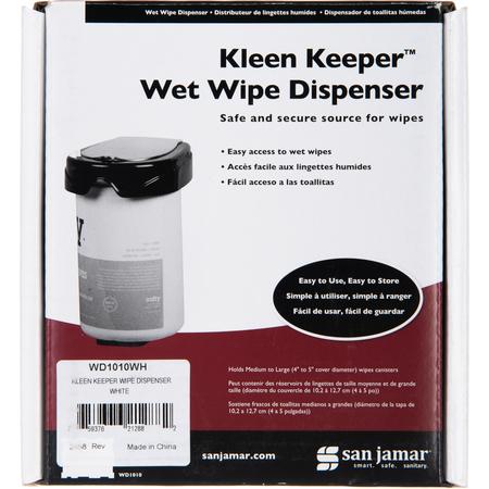 WD1010WH - KLEEN KEEPER WIPE DISPENSER  WHITE