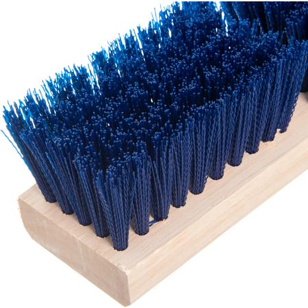 "36193P14 - Flo-Pac® 10"" Polypropylene Deck Scrub 10"" - Blue"