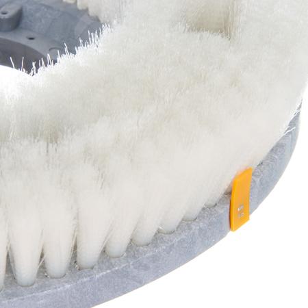 "361500N12-5N - Colortech™ Nylon General Scrub Rotary Brush 15"" - White"