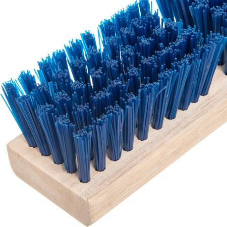 """3617514 - Flo-Pac® Stiff Polypropylene Deck Scrub 10"""" - Blue"""