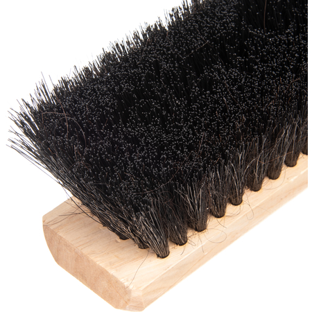 """360243603 - Flo-Pac® Horsehair/Polypropylene Sweep With Wire Center 36"""" - Black"""