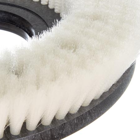 "361400N12-5N - Colortech™ Nylon General Scrub Rotary Brush 14"" - White"