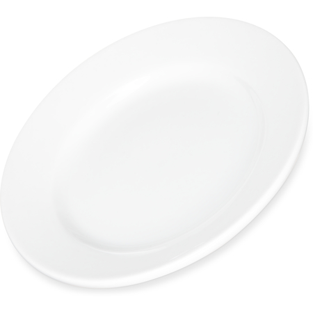"DX5ACBP02A - Dinex® Bread Plate 5.5"" (36/cs) - Bright White"