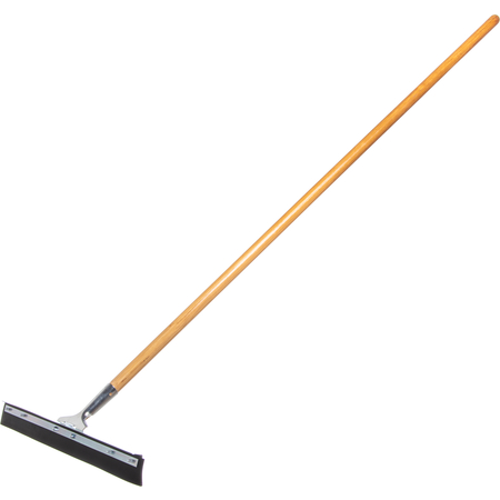 """361202400 - Flo-Pac® 24"""" Straight Blade Black Rubber Squeegee 24"""" - Black"""