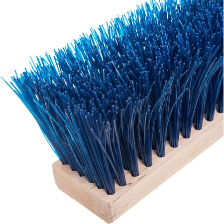 "3611401814 - Flo-Pac® 18"" Heavy Polypropylene Sweep 18"" - Blue"