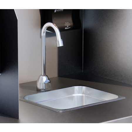 DXPSF2150 - BATTERY OPERATED TOUCHLESS FAUCET
