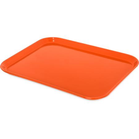 "1814FG018 - Glasteel™ Fiberglass Tray 18"" x 14"" - Orange"