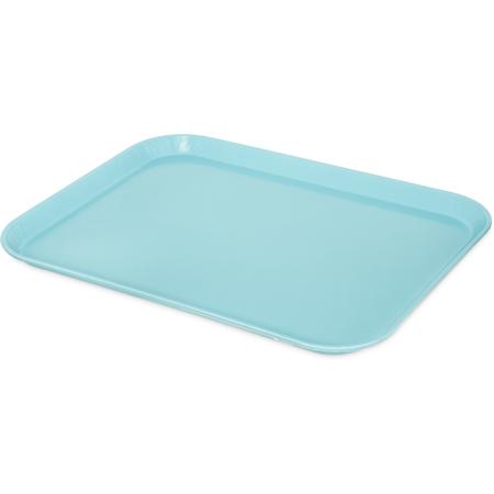 "1814FG013 - Glasteel™ Fiberglass Tray 18"" x 14"" - Ice Blue"