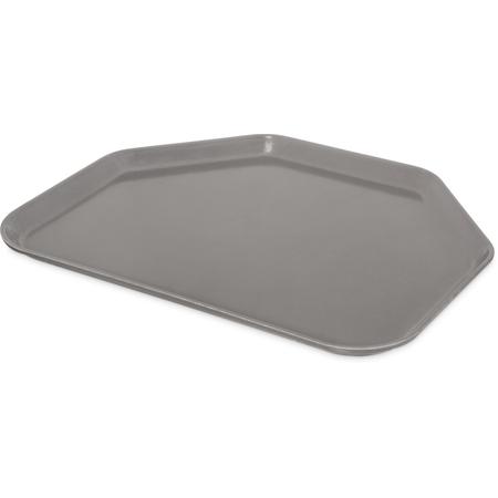 "1713FG068 - Glasteel™ Fiberglass Tray Trapezoid 18"" x 14"" - Gray"