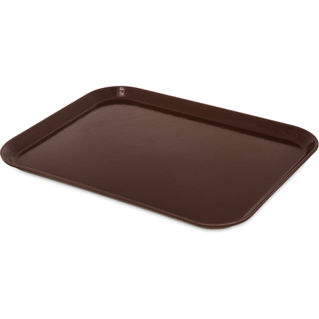 "2015FG127 - Glasteel™ FiberglassTray 20.25"" x 15"" - Chocolate"
