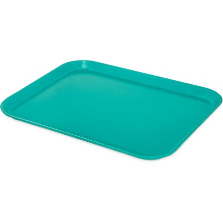 "1814FG011 - Glasteel™ Fiberglass Tray 18"" x 14"" - Turquoise"
