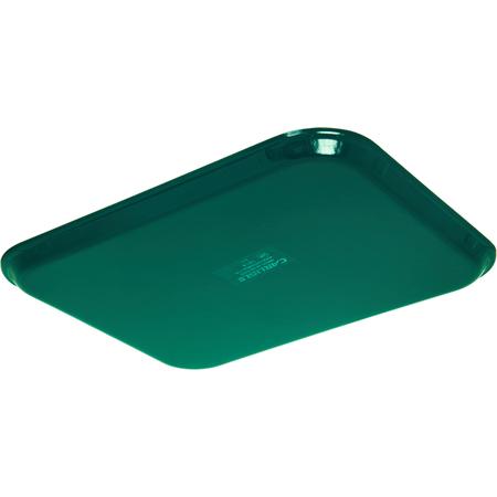 "1814FG010 - Glasteel™ Fiberglass Tray 18"" x 14"" - Forest Green"