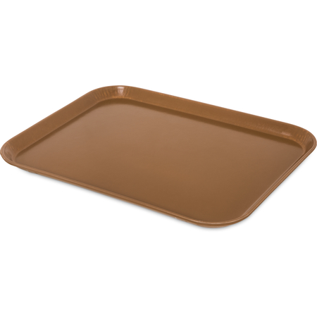 "1814FG97005 - Glasteel™ Fiberglass Tray 18"" x 14"" - Bay Leaf Brown"