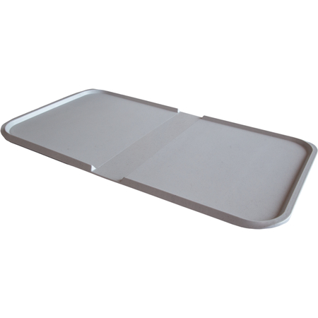 """DXSC132223 - Thermal Aire III™ Individual Meal Patient Tray 22"""" x 13"""" (20/cs) - Gray"""