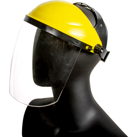 AFS100 - Face Shield - Adjustable - Yellow
