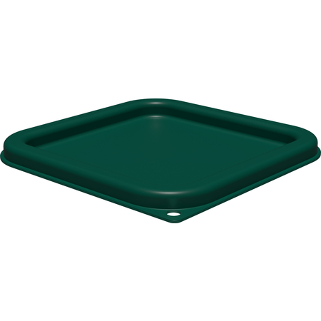 1197008 - Squares Food Storage Container Lid 2 - 4 qt - Forest Green
