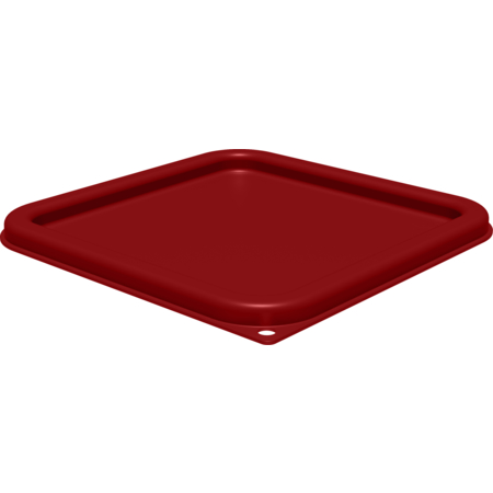 1197105 - Squares Food Storage Container Lid 6 - 8 qt - Red