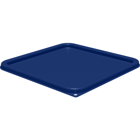 1197260 - Squares Food Storage Container Lid 12 - 22 qt - Royal Blue