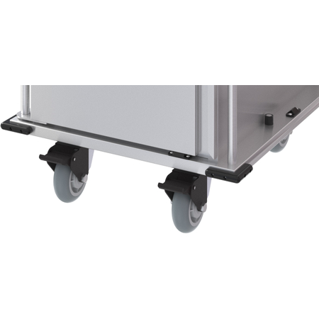 """DXPTQCAST64S - Dinex® Swivel Casters with Brakes 6"""" (1ea) - Stainless Steel"""