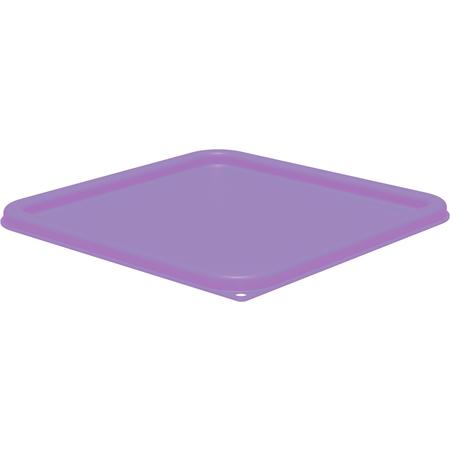 1197289 - Squares Food Storage Container Lid 12 - 22 qt - Purple