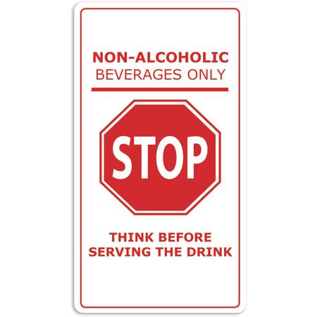 BM1018 - BAR MAT, NON ALCOHOLIC