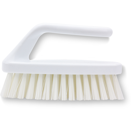 "40024EC02 - 6"" POLYESTER BAKE PAN LIP BRUSH WHITE"