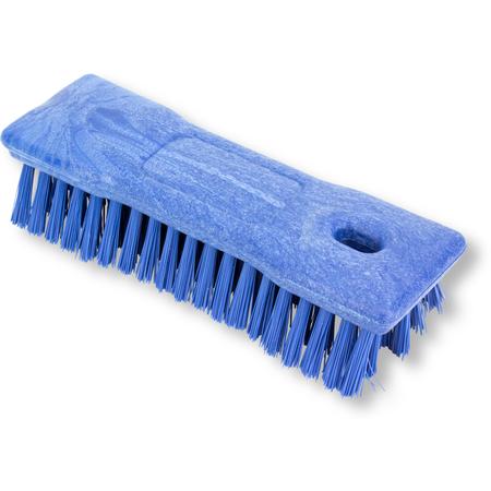 "42024EC14 - 8"" COMFORT GRIP HAND SCRUB - BLUE"