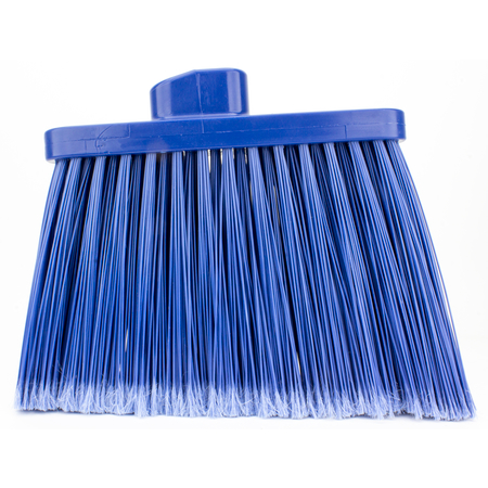 36867EC14 - DUO-SWEEP FLAGGED BROOM - HEAD ONLY - BLUE