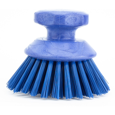 42395EC14 - ROUND SCRUBBING BRUSH - BLUE