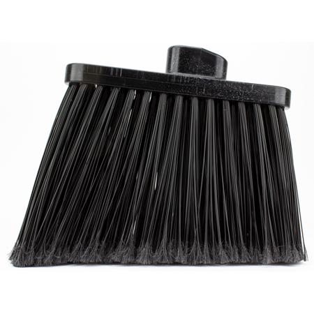 36867EC03 - DUO-SWEEP FLAGGED BROOM - HEAD ONLY - BLACK