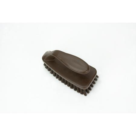 """40024EC01 - 6"""" POLYESTER BAKE PAN LIP BRUSH BROWN"""