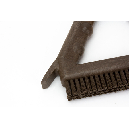 """41323EC01 - 9"""" POLY TILE & GROUT BRUSH BROWN"""