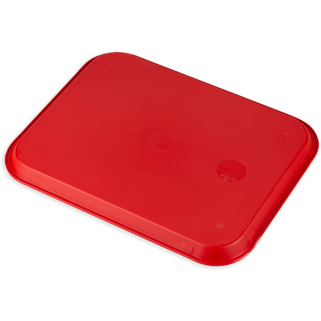 """CT141805 - Cafe® Fast Food Cafeteria Tray 14"""" x 18"""" - Red"""