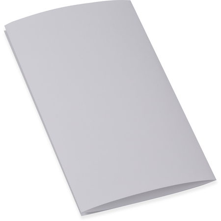 """DX6SM0010000 - Blank Laser-Compatible Sheets, Two 8-1/2"""" perf (3 panel) Unprinted, Both Sides 8-1/2""""x14"""" (2000/cs)"""