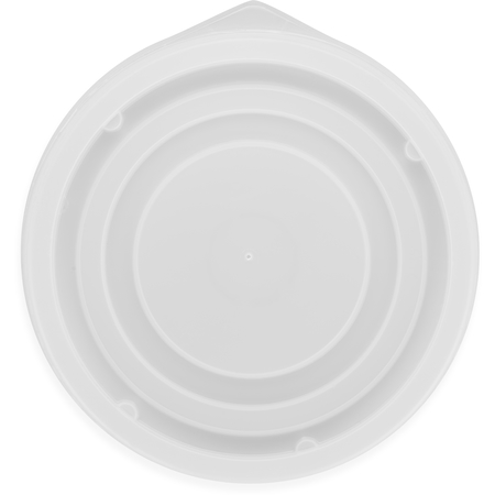 DX21359000 - Disposable Lid - Fits Specific 8 - 12 oz Aladdin Temp-Rite Bowls (2000/cs) - Translucent