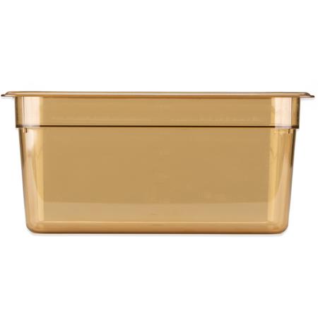 "3086213 - StorPlus™ High Heat Food Pan 1/3 Size, 6"" Deep - Amber"