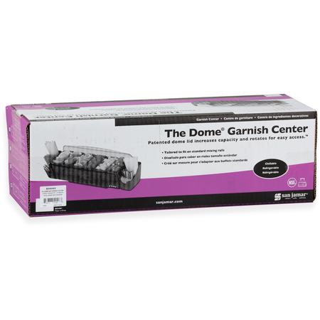 BD4006S - DOME GARNISH STATION 6PT/6TRAY