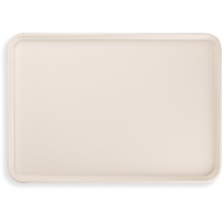 "2618FGQ001 - Glasteel™ Tray Display/Bakery 17.9"" x 25.6"" - Bone White"