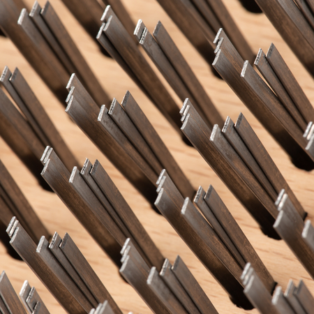 """4067600 - Brush w/Flat Steel Bristles 9-3/8"""" x 3-25/32"""""""