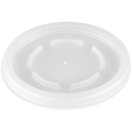 DX22259000 - Disposable Lid - Fits Specific 8 - 16 oz Dinex, Carlisle, Cambro and G.E.T. Enterprises Tumblers (2000/cs) - Translucent