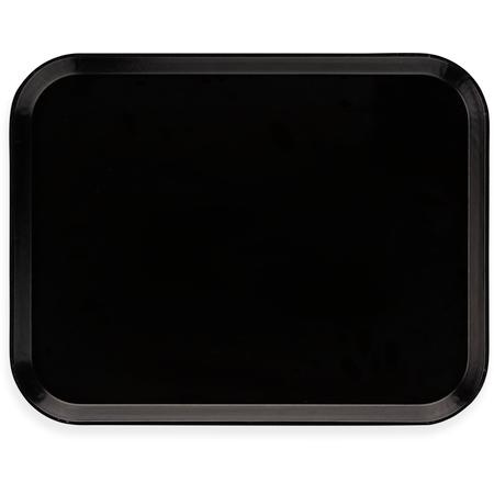 "DX1089I03 - Glasteel™ Flat Tray 14"" x 18"" (12/cs) - Onyx"