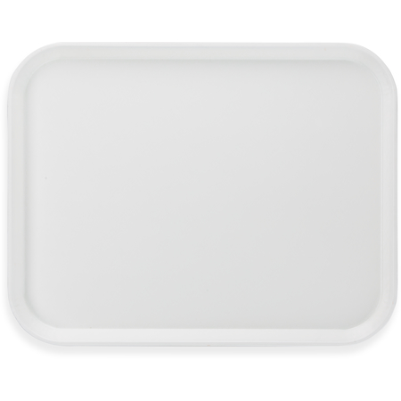 """1814FG001 - Glasteel™ Fiberglass Tray 18"""" x 14"""" - Bone White"""