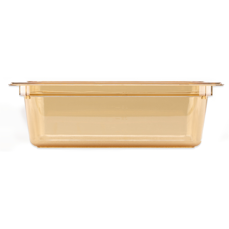 "10421B13 - StorPlus™ High Heat Food Pan 1/2 Size, 4"" Deep - Amber"