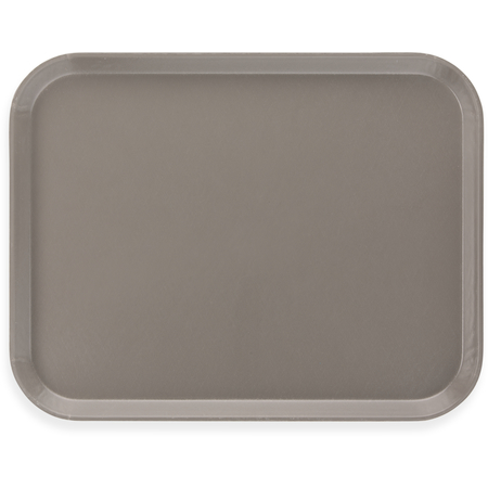"1814FG068 - Glasteel™ Fiberglass Tray 18"" x 14"" - Gray"