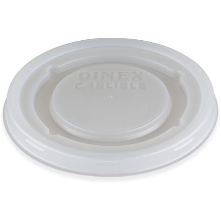 DX50008714 - Fenwick Translucent Mug & Bowl Lid (1500/cs) - Translucent